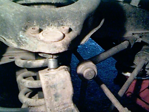 Tom's VW Pages! - Vanagon Upper Balljoint Replacement